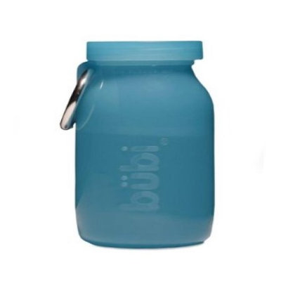 Bubi Bottle (Blue Silicone Multi-Use Bottle) 14oz