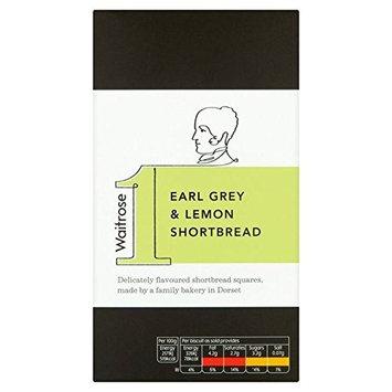 Earl Grey & Lemon Shortbread Waitrose Waitrose 135g