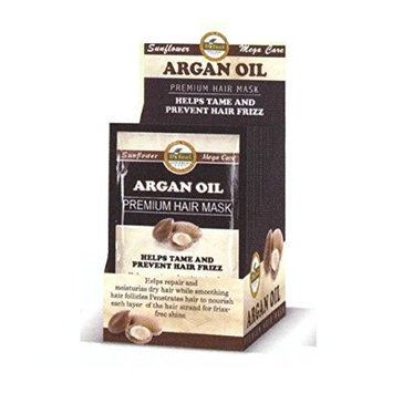 Difeel Premium Hair Mask - Argan Oil 1.75 oz. (Pack of 6)
