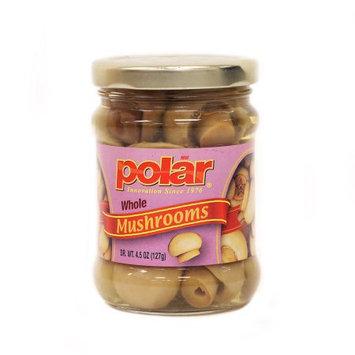MW Polar Whole Button Mushroom in Tall Jar 4.5oz.
