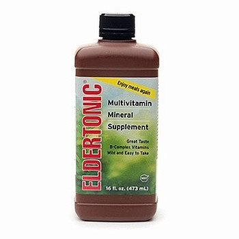 Eldertonic Multivitamin with Minerals Supplement