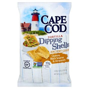 Cape Cod Potato Chips Cape Cod, Shells Dipping Grain, 6 Oz (Pack Of 12)