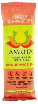 Amrita Health Foods Endurance Bar Apricot Strawberry 1.8 oz - Vegan