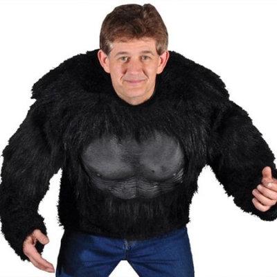 Gorilla Shirt Adult Halloween Costume - One Size
