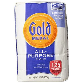 Gold Medal All Purpose Flour , 10 LB (Pack of 4)