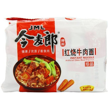 JML Instant Noodle, Artificial Stew Beef, 3.88 Ounce (Pack of 30)