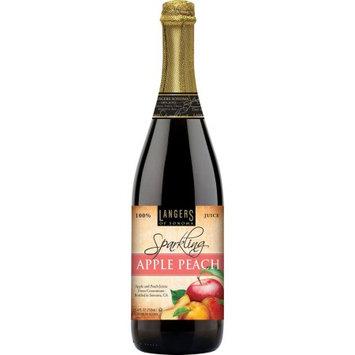 Langers Of Sonoma Langers Sparkling Juice Drink, Apple Peach, 25.4 Fl Oz
