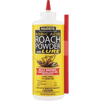 Harris Boric Acid Roach Killer With Applicator - HRP-16