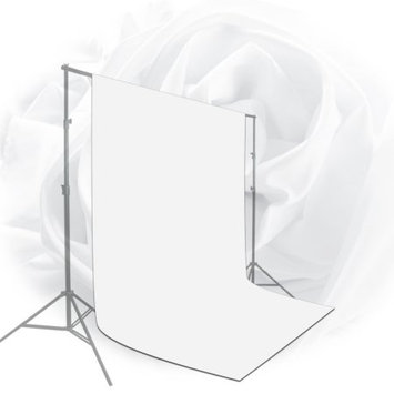 Limo Studio LimoStudio 10 x 20 ft. White Chromakey Photo Video Studio Fabric Backdrop, Background Screen, Pure White Muslin, Photography Studio, LIWA75