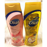 Dial Body Wash Bundle- 2 Pack Himalayan Pink Salt and Miracle Coconut Oil 16 Oz Each
