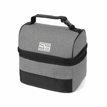 Fulton Bag Co. Bucket Lunch Bag - Gray