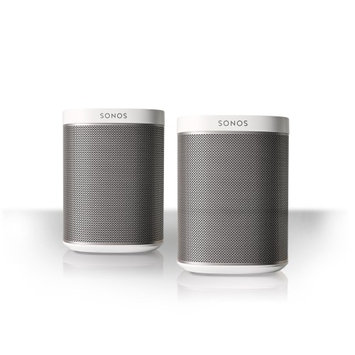 Sonos Play:1 All-In-One Compact Wireless Music Streaming Speakers - Pair