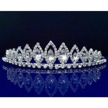 SC Rhinestone Bridal Wedding Prom Pageant Costume Crystal Tiara 2446