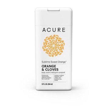 Acure Sublime Sweet Orange Body Wash, 12 Fluid Ounces