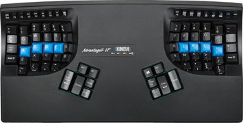 Kinesis Advantage2 LF KB600LF Ergonomic Keyboard for PC and Mac