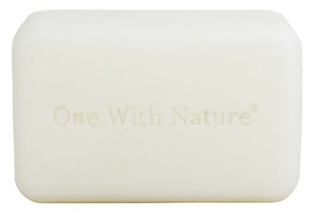 One With Nature 268894 4 oz. Soap Bar Goats Milk & Lavender
