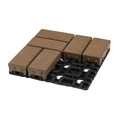 AZEK 4 in. x 8 in. Olive Permeable Paver