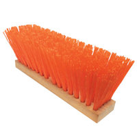 Magnolia Brush 455-1316-O 16 Inch Osha-Orange Plasticstreet Broom W-O Hdl