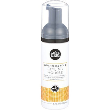 Whole Foods Market, Weightless Hold Styling Mousse, 5 oz