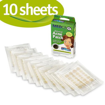 Etcbuys MEDca Acne Pimple Master Patch Absorbing Cover 24 Count Three Sizes 10 Sheets