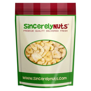 Sincerely Nuts Banana Chips, Organic, 1 Lb
