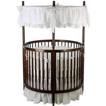 Dream On Me Sophia Posh Circular Crib, Choose Your Finish