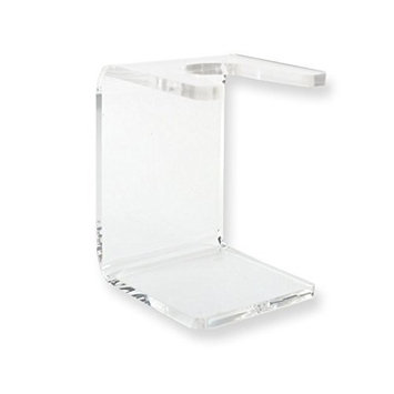 Kaliandee clear plastic shaving brush stand