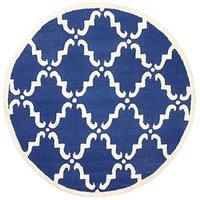 nuLOOM Divina Hand Tufted Blue Area Rug