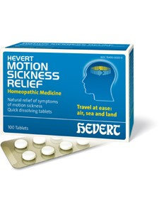 Hevert Motion Sickness Relief 100 tabs by Hevert Pharmaceuticals