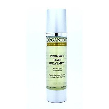 ORGANICOLAB, Ingrown Hair Treatment, Smooth away razor bumps and ingrown hairs superb serum, 3.4 fl. oz.