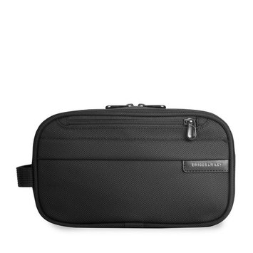 Briggs & Riley Baseline Classic Toiletry Kit,Black,5.5x10x4.5