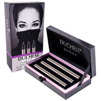 DUCHESS by SHANY Set of 3 Waterproof Liquid Eyeliners - Precision Collection