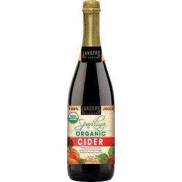 Langer Juice Co. Langers Organic Sparkling Apple Cider, 25.4 Fl Oz, 1 Count