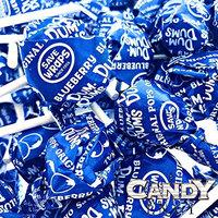 Blue Dum Dums Color Party - Blueberry Flavored - 4 Bags - 75 Count Per Bag - 300 Total Lollipops - Includes Free