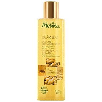 Melvita L'Or Bio Extraordinary Shower Gel 250ml (PACK OF 6)
