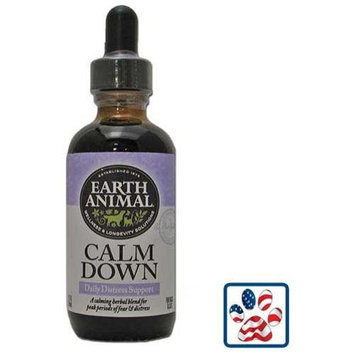 Earth Animal Calm Down Daily Distress Support 2oz