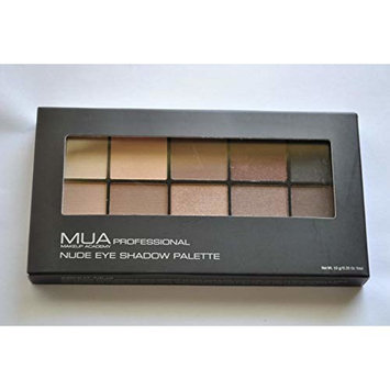 MUA Makeup Academy Nude Eye Shadow Palette 0.35 oz / 10 g