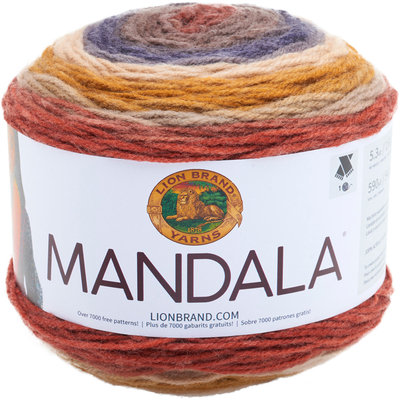 Lion Brand Mandala Fashion Yarn, Centaur