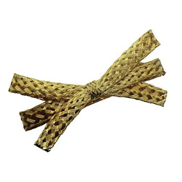 Charles J. Wahba - Wire Mesh Tailored Ribbon Barrette Gold plated - from FRANCE