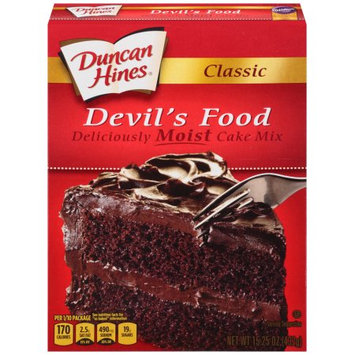 Pinnacle Foods Duncan Hines Classic Cake Mix, Devil's Food, 15.25 Oz