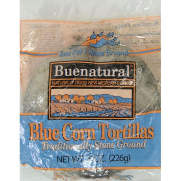 Leona's Foods, Inc. Bueno Foods Buenatural Blue Corn Tortillas 12ct