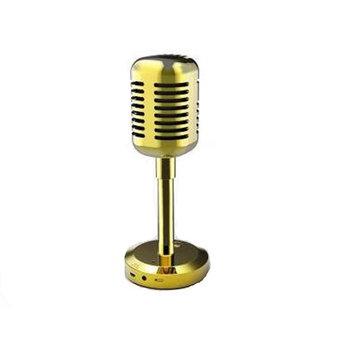 Craig Electronics CMA3587GD Craig Cma3587gd Gold Microphone Speaker Portable With
