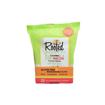 Kiwi Melon Calming Facial Wipes with Goji Berry