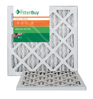 AFB Bronze MERV 6 11.25x11.25x1 Pleated AC Furnace Air Filter. Filters. 100% produced in the USA. (Pack of 2)