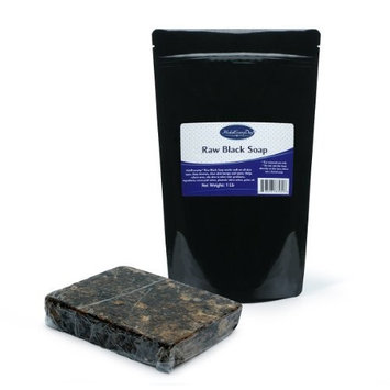 Raw Black Soap from Ghana - 1 Lb By HalalEveryday