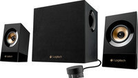 Logitech - Z533 Multimedia Speakers (3-piece) - Black