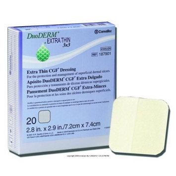 (BX) DuoDERM Extra Thin CGF Dressing: Health & Personal Care