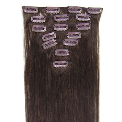 7pcs Clip in Indian Remy Human Hair Extensions Straight 10colors in 5 Length Women's Beauty Accecories for Your Best Choose High Quality