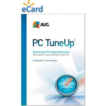 Interactive Communications AVG PC TuneUp 3-User $29.99 (Email Delivery)