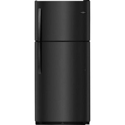 Frigidaire 20.4 Cu. Ft. Top Freezer Refrigerator - Black